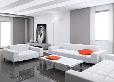 sala color blanco