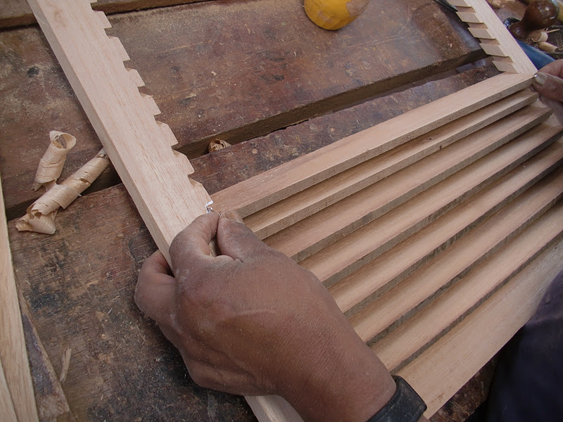 Decoraciones manualidades en madera como hacer persiana - Persiana enrollable madera ...