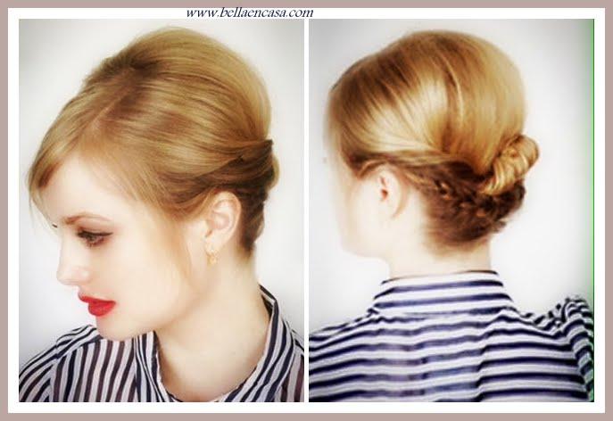 peinados de fiesta para cabello corto los mejores bella en casa