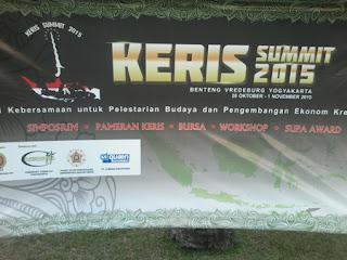 Foto Foto Pameran Keris Summit 2015 di Yogyakarta