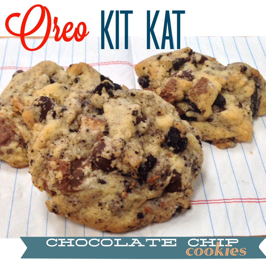 Cookie recipe with kit kats