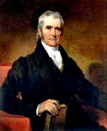 chief justice marshall court ruling significance The decisions of the supreme court also reflected the nationalism of the postwar  period with john marshall as chief justice, the supreme court greatly.