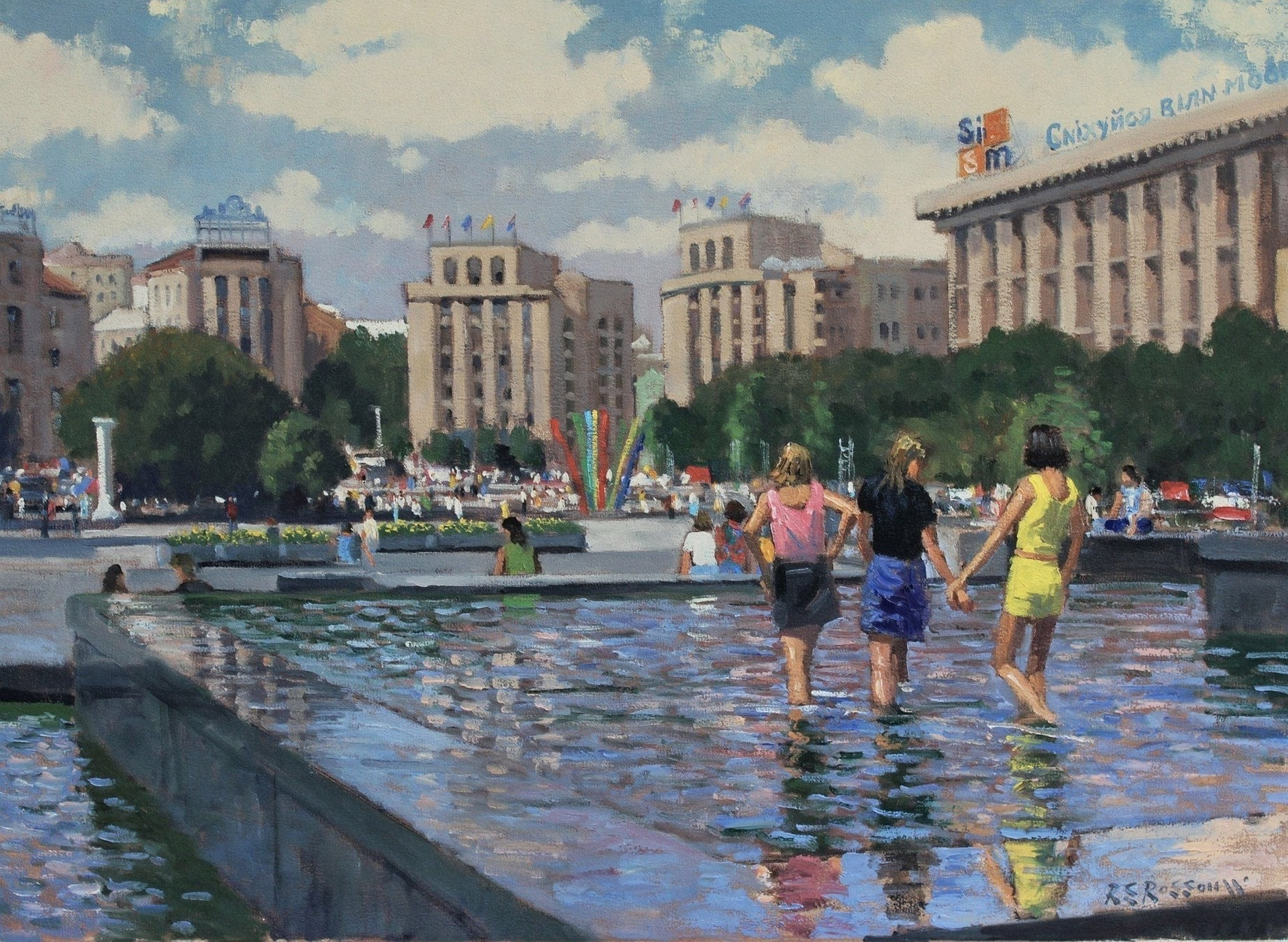 Roelof Rossouw One Hot Day In The City Kiev