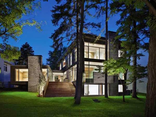 Canada stunning contemporary house architecture features for House plans in canada