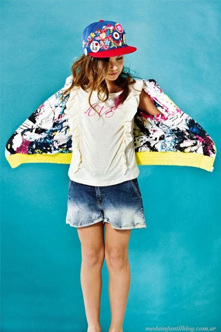 ropa de moda niñas primavera verano 2014