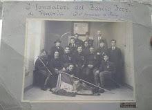 I fondatori del fascio ferrovieri di Venezia (il 4° formatisi in Italia)