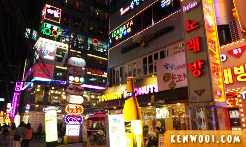 seoul gangnam station area