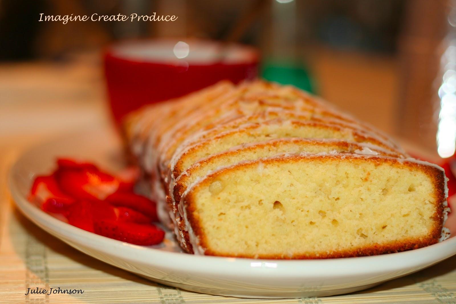 Extra Moist Lemon Sour Cream Pound Cake