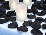 Black rose petals. Really sexy.