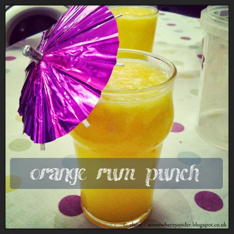 Orange Rum Punch cocktail