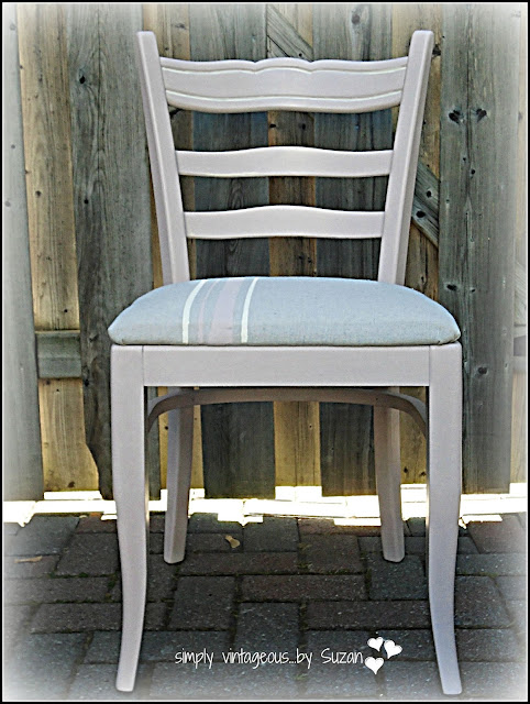 PAINTED DESK CHAIR