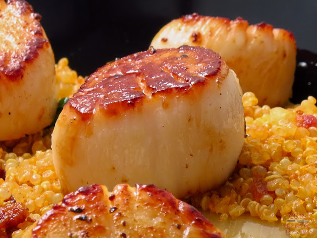 Fresh Local Scallops