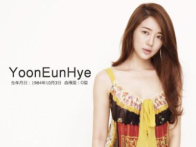 Foto Yoon eun hye Cantik terbaru