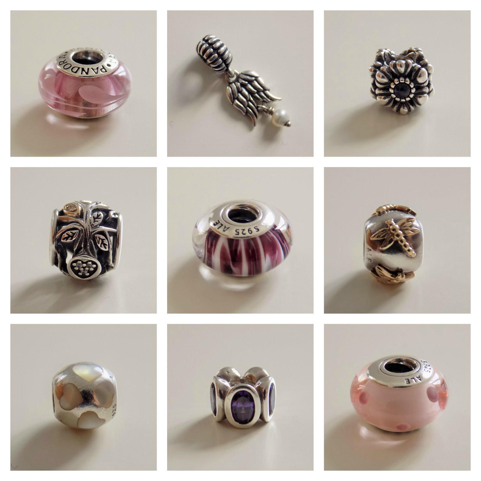 What Lizzy Loved. Buy my pre-loved Pandora. Click on the photograph to see more.