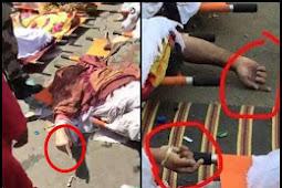 Keajaiban Islam Jamaah haji korban tragedi Mina meninggal dengan jari telunjuk