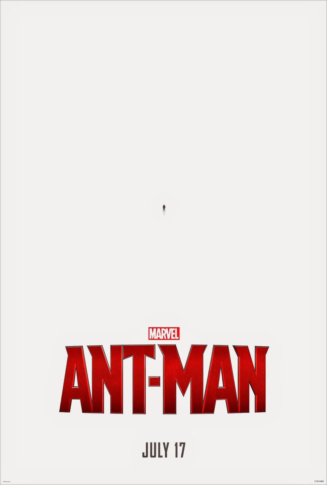 Teaser Poster for Ant-Man