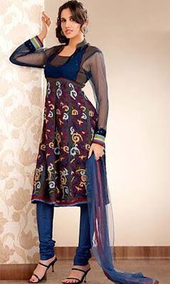 Muslim Salwar Kameez, fashion show
