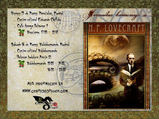 Jornada Lovecraft cofradía del Dragón, 16 mar 2013