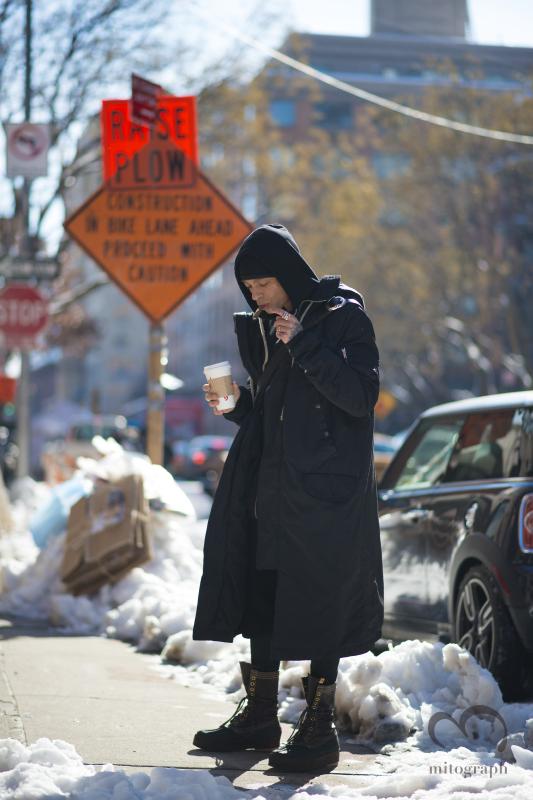IDOL Brooklyn owner Alex Kasavin at New York Fashion Week NYFW