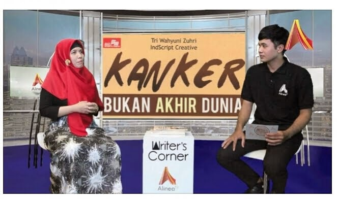 WRITER'S CORNER DI ALINEA TV