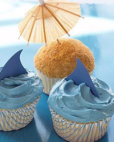 {Taste of the Coast} Beach-Inspired Cupcake Ideas
