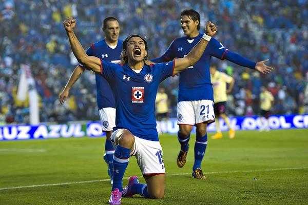 Clásico joven en el Cruz Azul y el América, durante la jornada 12 del torneo Apertura 2014 del futbol mexicano Liga MX | Ximinia