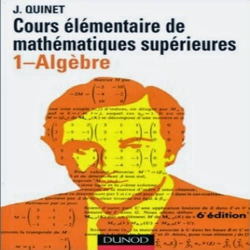 Cours élémentaire de mathématiques supérieures - 1 Algèbre     Depuis de nombreuses années, et au fil de plusieurs réimpressions, plus de 100 000 étudiants, ingénieurs, techniciens et professionnels se sont formés avec succès aux mathématiques supérieures grâce à cet ouvrage  Ce recueil d'exercices et de sujets d'étude, avec leurs solutions, porte sur les ensembles, les structures algébriques, les entiers naturels, les entiers relatifs et l'arithmétique, les polynômes, les équations algébriques et les fractions rationnelles, et couvre ainsi le programme d'algèbre générale des 1e et 2e années d'enseignement supérieur mathématique  La première partie comporte les énoncés, dont la difficulté est graduée, ainsi que les sujets d'étude. Ces derniers ne sont pas des problèmes de concours mais des ouvertures qui viennent éclairer et compléter le cours magistral  La deuxième partie donne les indications de résolution ainsi que toutes les réponses aux questions posées. Les indications sont plus ou moins développées suivant la difficulté de l'exercice. Ce ne sont pas des corrigés mais plutôt des jalons destinés à guider le lecteur vers la bonne réponse et à lui rendre familiers les mécanismes mathématiques, tout en restant dans les limites des programmes