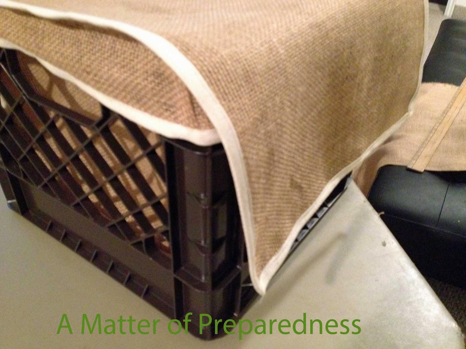 Portable Root Cellar : A matter of preparedness it s having root