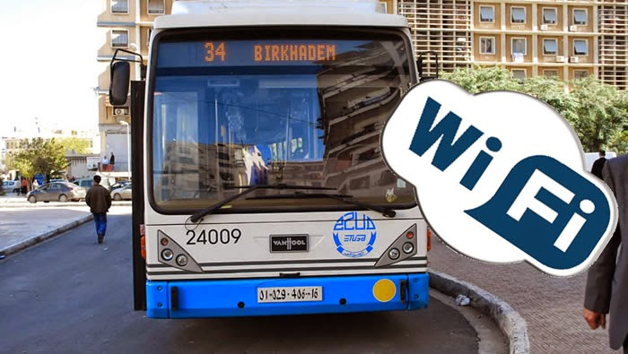 الويفي مجانا بحافلات الجزائر