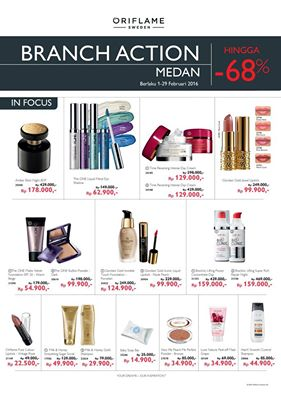 Branch Action Oriflame Indonesia Februari 2016 - Medan