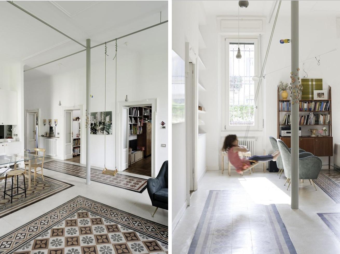 Appartamento Giulio Cesare Milano by Elena Tirinnanzi e Francesco Colorni  A...