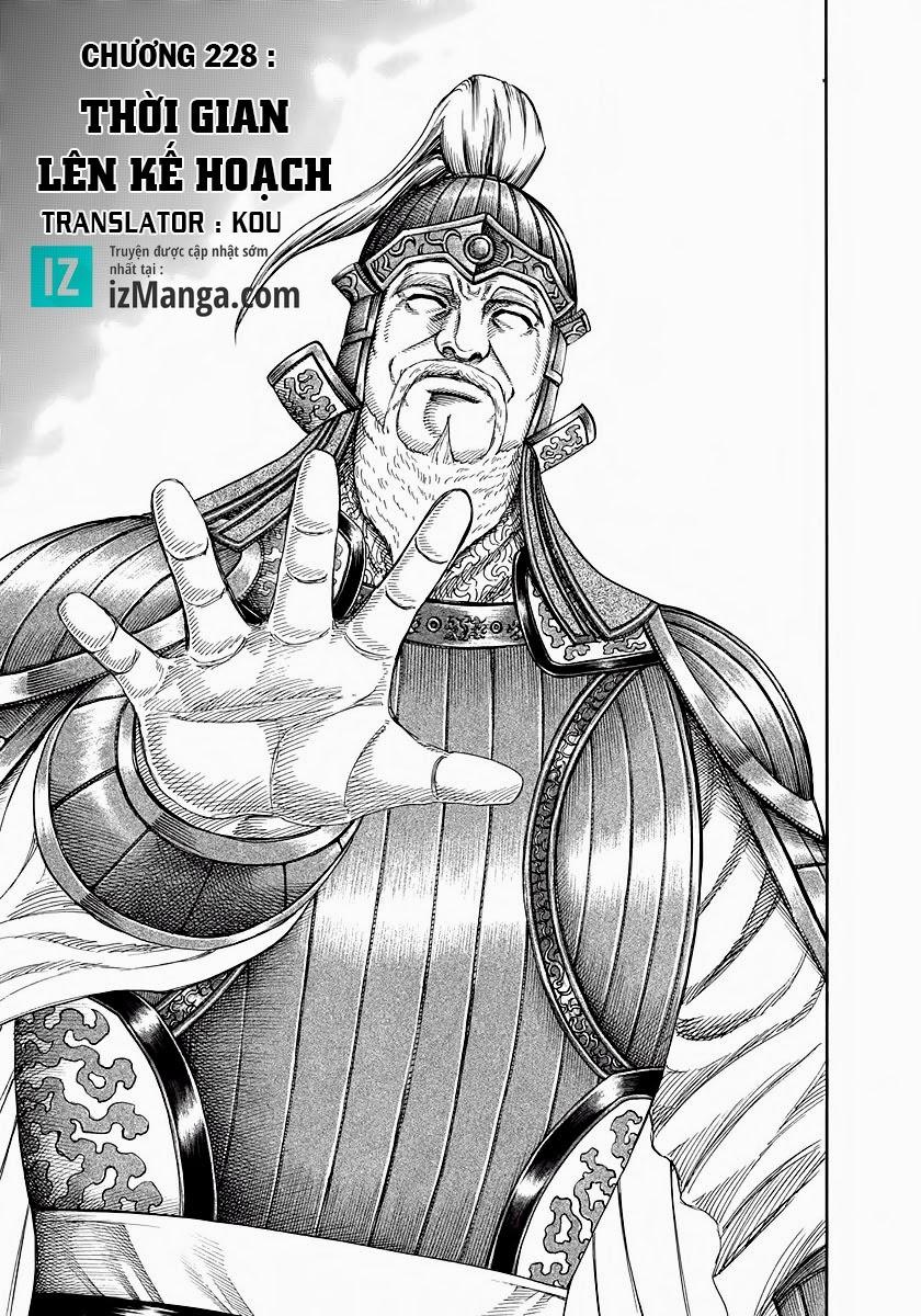 Kingdom - Vương Giả Thiên Hạ Chapter 228 page 2 - IZTruyenTranh.com