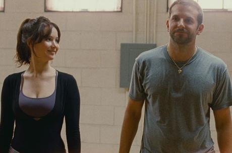 """Bradley Cooper y Jennifer Lawrence en """"El Lado Bueno de las Cosas"""""""