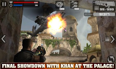 FRONTLINE COMMANDO HD ANDROID GAME