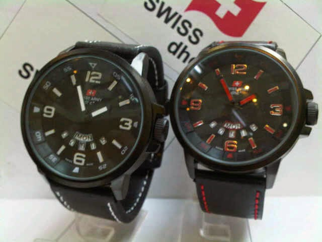 Swiss Army SA 1128 AB Original merah
