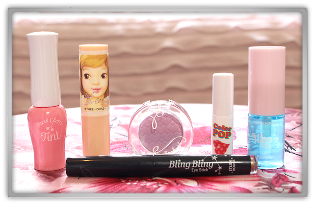 Jolse Order Etude House Makeup Haul Review 2015 beauty blogger cherry tint pop bling stick look eyes cafe lip concealer woo baby plumper