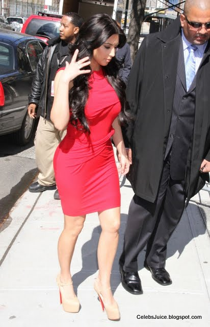 "Kim Kardashian at ""The Wendy Williams Show"" in New York-6"