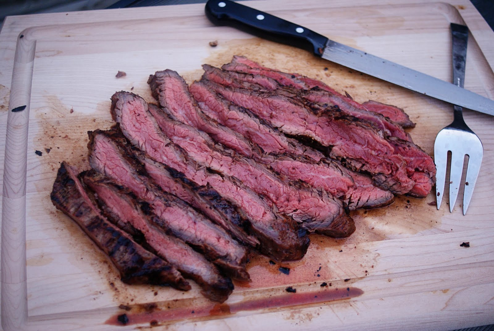 no reEATS: Marinated Grilled Flank Steak