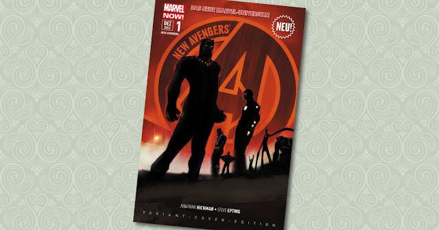 New Avengers 1 Panini Variant Cover