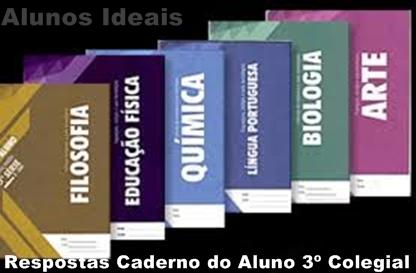 Gabarito de Respostas - Caderno do Aluno 3º Colegial/2013