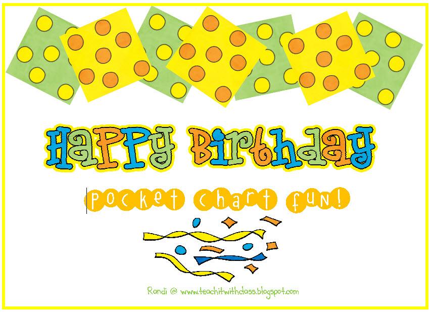 Birthday Freebie Chart