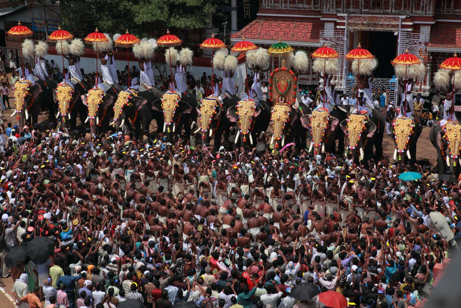Thrissur Pooram 2013 live streaming | Kerala Today News