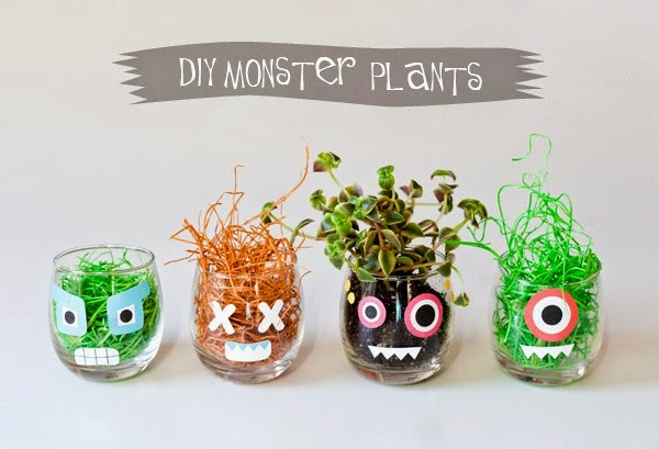 Diy Decoracion Halloween ~ Decoraci?n F?cil DIY MACETAS MONSTRUOSAS PARA HALLOWEEN