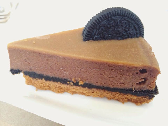 Casita Xocolat's Oreo Orange Cheesecake