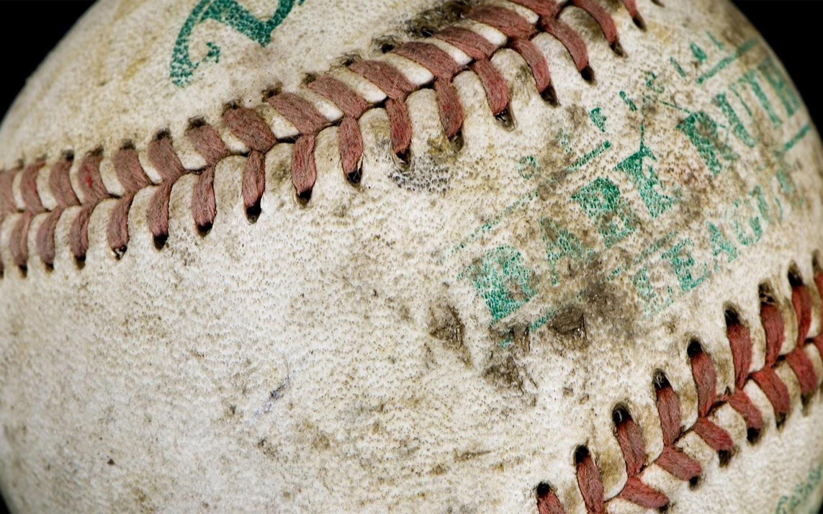 Sports Base Ball Close Up