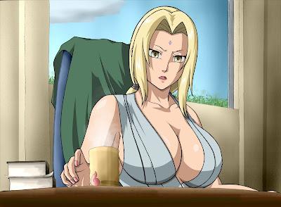 Kostum Hot Tsunade Seksi Naruto Manga