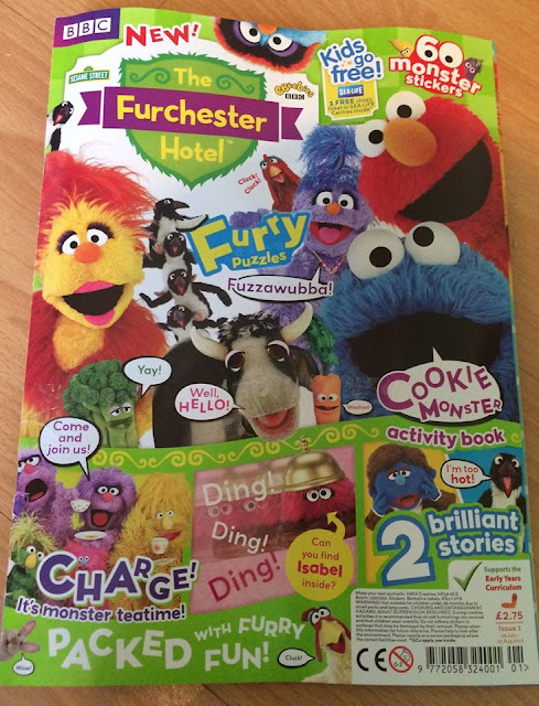 The new Furchester hotel magazine from cbeebies