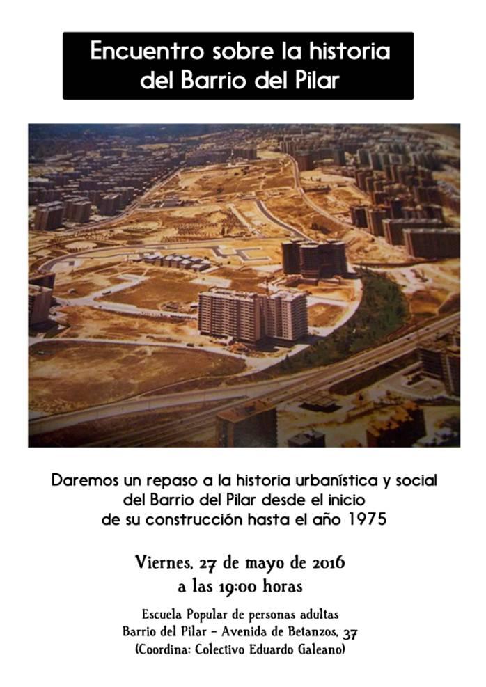 27 mayo Historia del Barrio de El Pilar