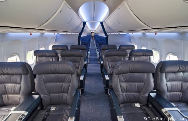 United Airlines First Class 737