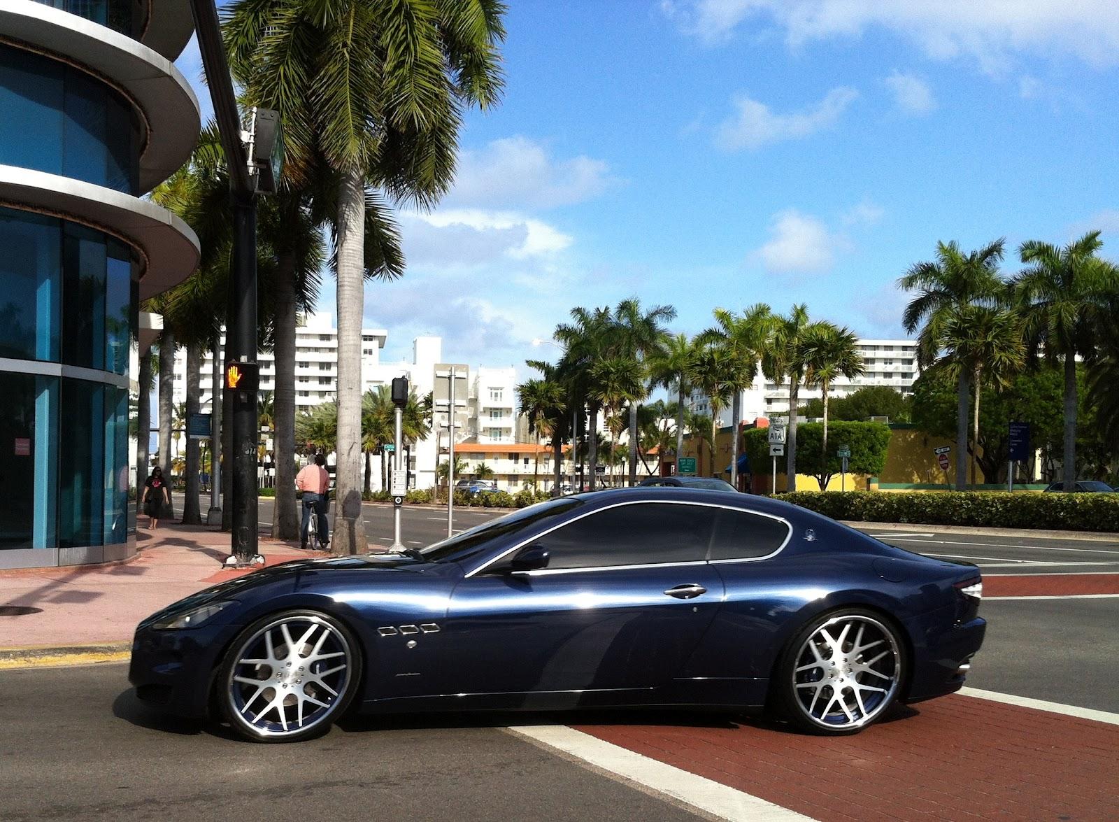 Custom Maserati GranTurismo   Miami Beach